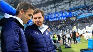 Ricardo Carvalho, junto a André Villas-Boas.