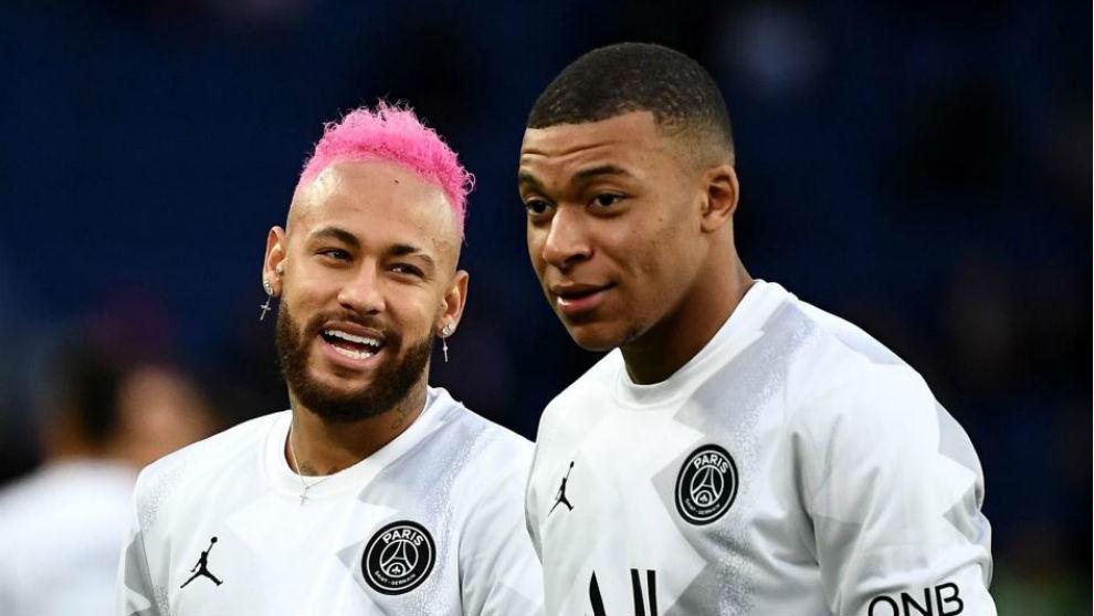 Neymar y Mbappé, los grandes activos de la actual plantilla del PSG.