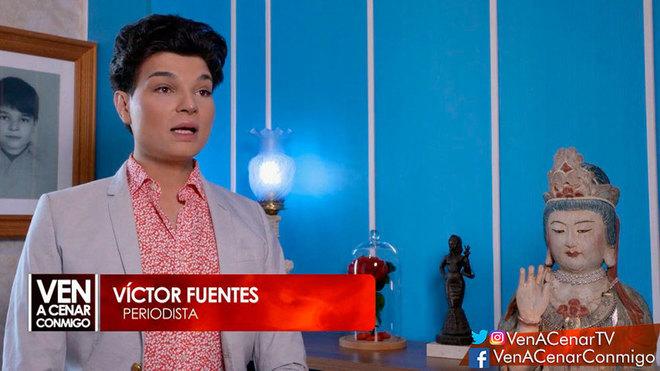 Víctor Fuentes, expulsado de 'Ven a cenar conmigo'.