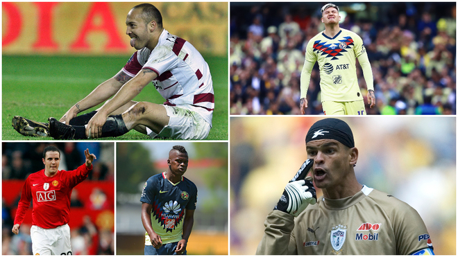 Los futbolistas que han sufrido una trombosis.