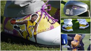 Los homenajes a Kobe Bryant en The Genesis Invitational.