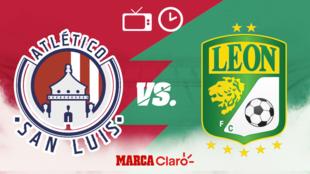San Luis vs León, horario y dónde ver.