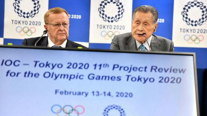 John Coates, presidente comisión coordinadora para los Juegos de...