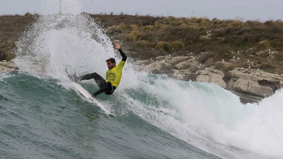 Aritz Aranburu, en el Rip Curl Santa Marina Challenge