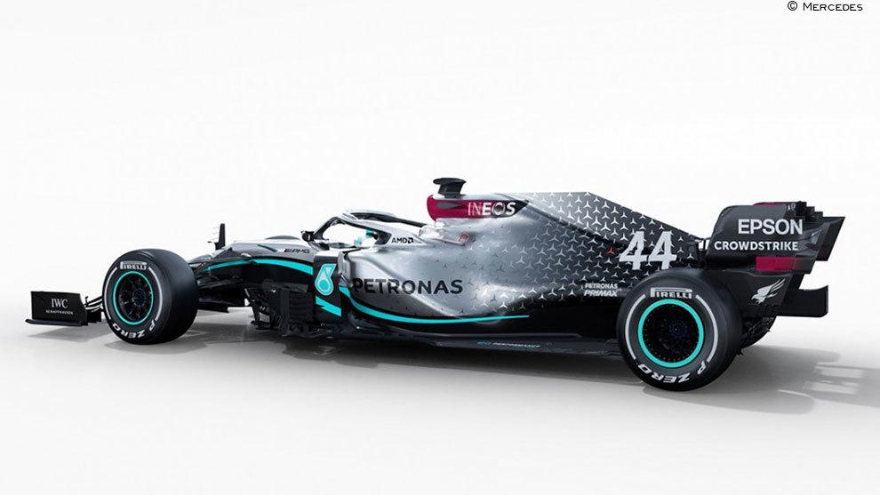 Nuevo W11 de Mercedes