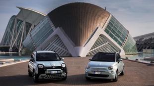 Fiat 500 y Panda Hybrid. Primera incursión eléctrica con dos...