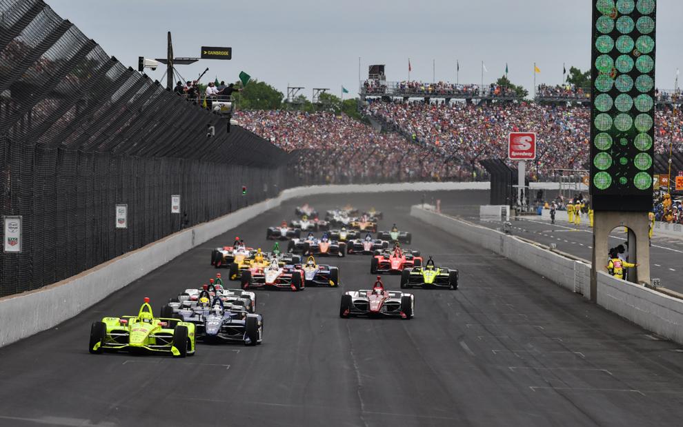 Salida de la Indy 500 2019