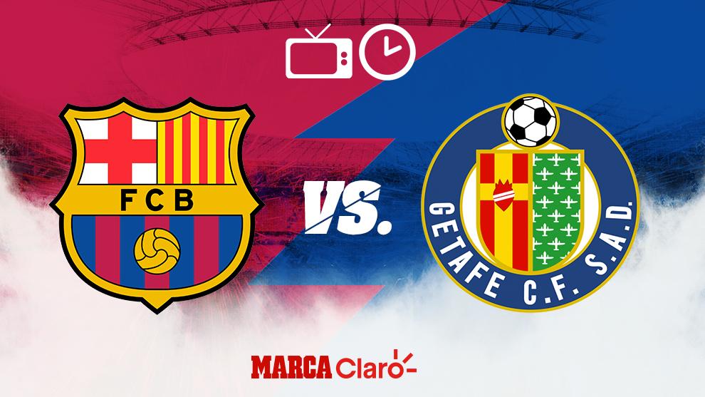 Liga Espanola Barcelona Vs Getafe Horario Y Donde Ver En Vivo Hoy Por Tv El Partido De La Jornada 24 De Laliga Marca Claro Mexico