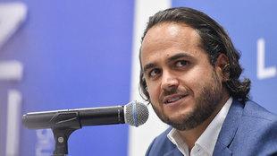 Jesús MArtínez Murguía en conferencia de prensa