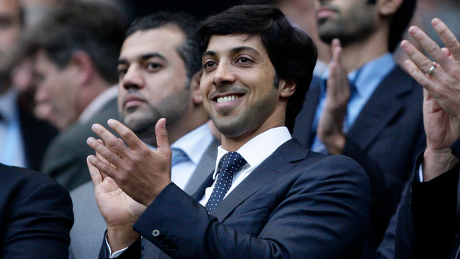 El jeque Mansour bin Zayed Al Nahyan, dueño del Manchester City.