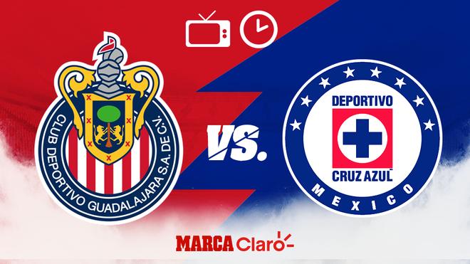Liga Mx Chivas Vs Cruz Azul Hoy En Vivo Horario Y Donde Ver El