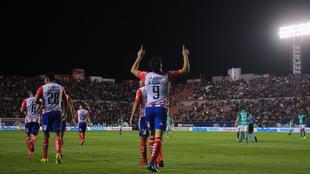 El festejo en el Alfonso Lastras de parte de Nicolás Ibáñez.
