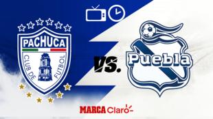 Pachuca vs Puebla: Horario y dónde ver.