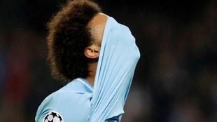Leroy Sane, futbolista del Manchester City.