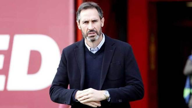 Vicente Moreno, en un partido del Mallorca.