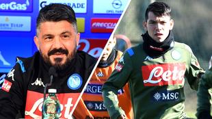 Gattuso y Chucky, diferencias en el Napoli