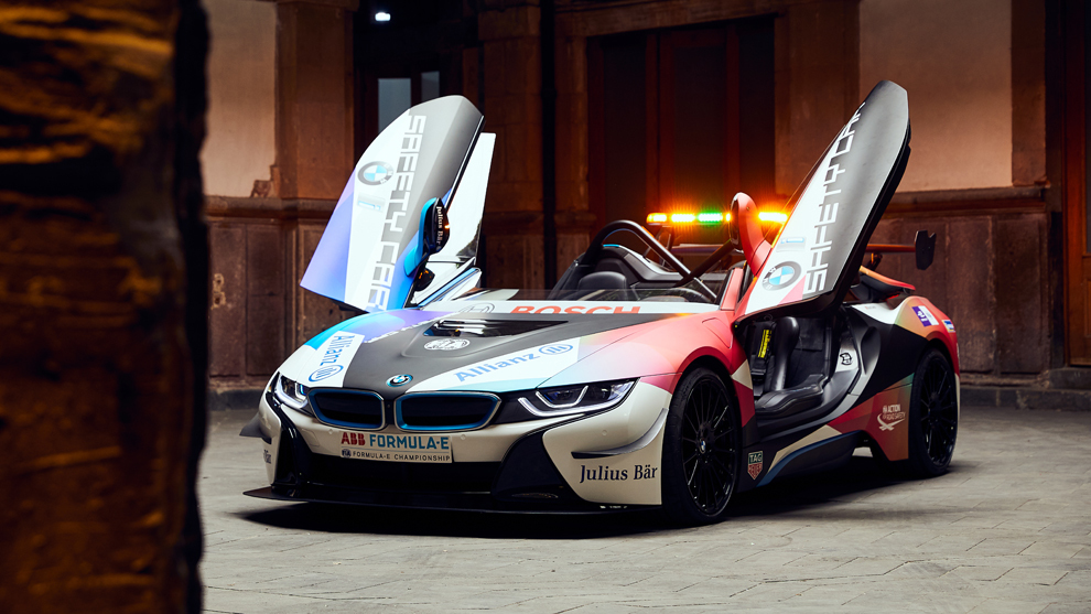 BMW i8 Roadster Fórmula E Safety Car