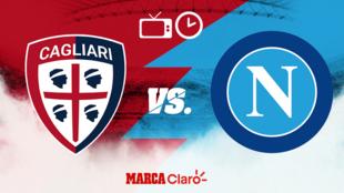 Cagliari vs Napoli, horario y dónde ver.