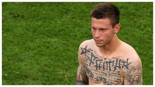 Los tatuajes de Fedor Smolov.