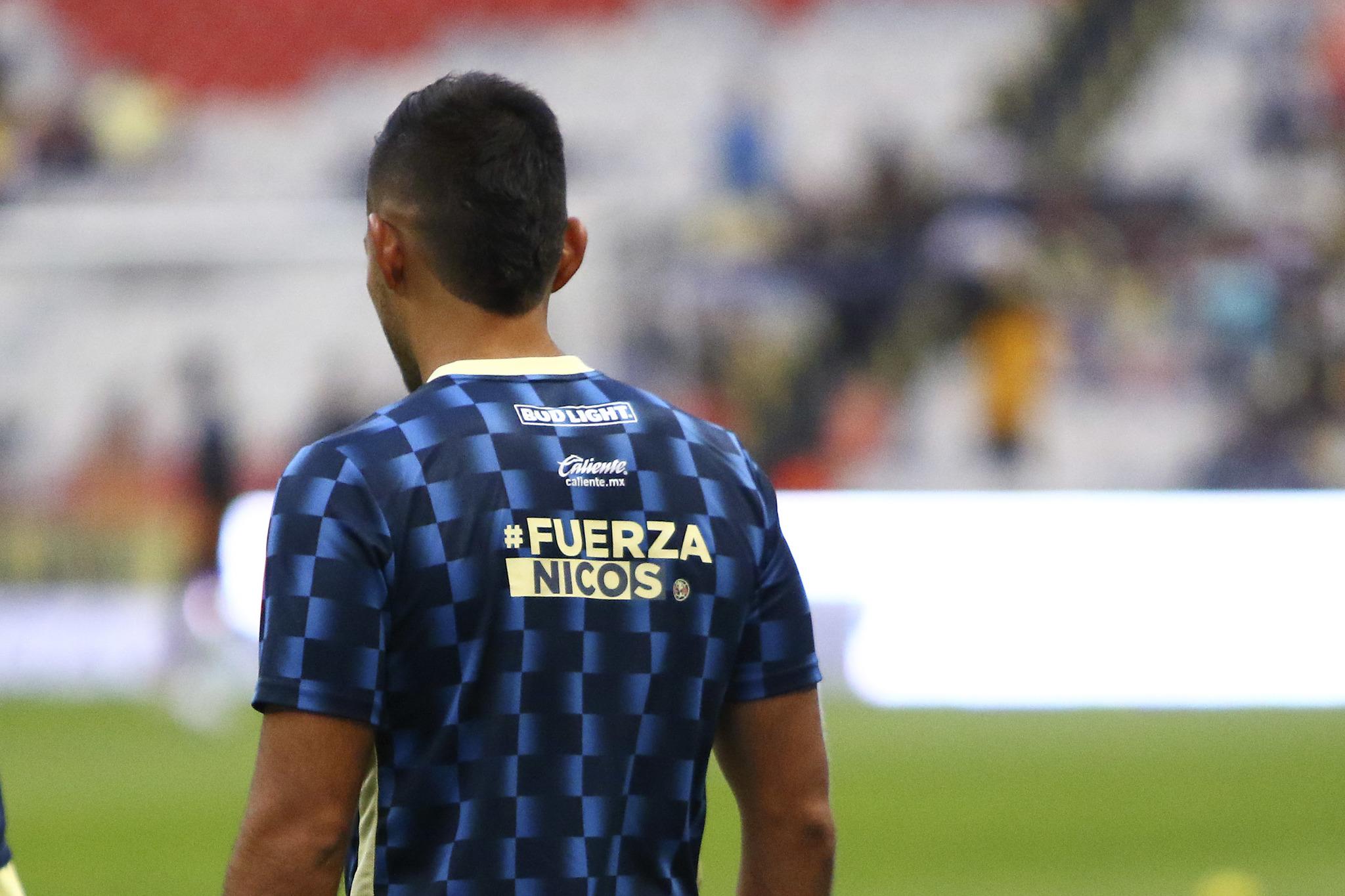 América mandó mensaje de apoyo para Nico Castillo y Nico Benedetti