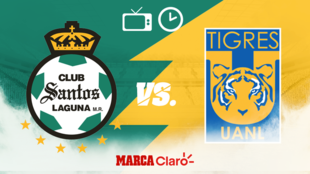 Santos vs Tigres hoy en vivo el partido de la jornada 6