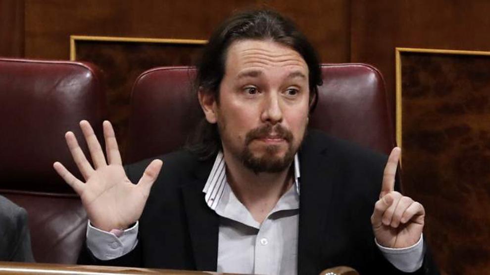 Pablo Iglesias utilizó una palabra 'pasada de moda'