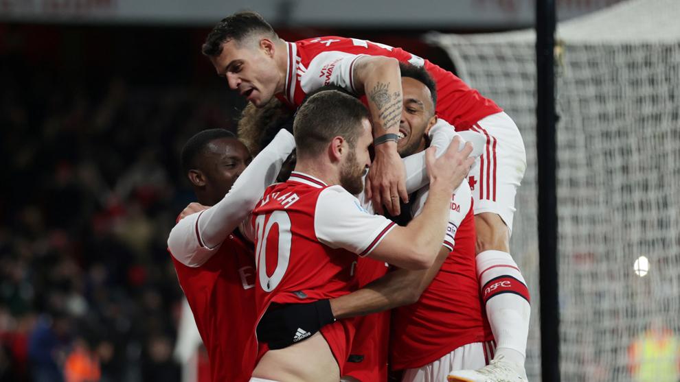 Arsenal celebra la goelada