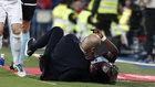 Aidoo atropelló a Zidane y le tiró por los suelos