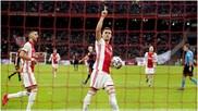 Tadic celebra su gol contra el RKC.