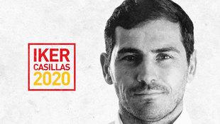 Iker Casillas anuncia su candidatura a presidente de la RFEF