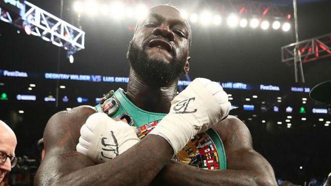 Wilder tras la primera pelea contra Luis Ortiz.