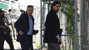 Ricardo Peláez y Amaury Vergara, presentes en el entrenamiento de...