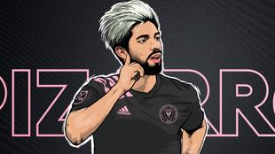 Pizarro, nuevo futbolista del Inter de Miami.