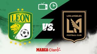 León vs LAFC: horario y dónde ver.