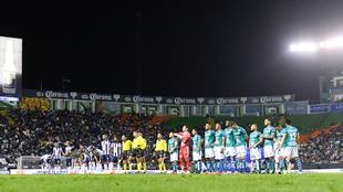 Partido entre Monterrey y León.