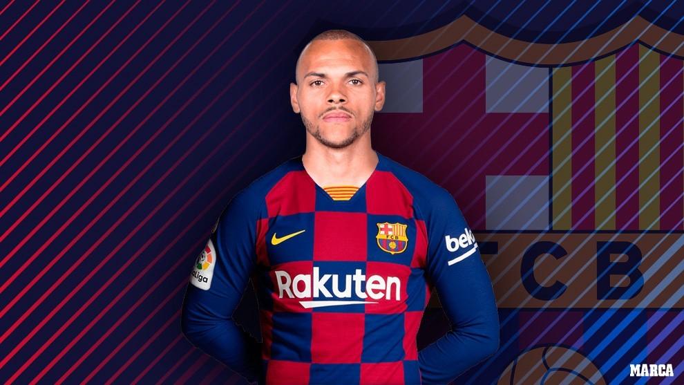 Martin Braithwaite: Barcelona make emergency signing from Leganes
