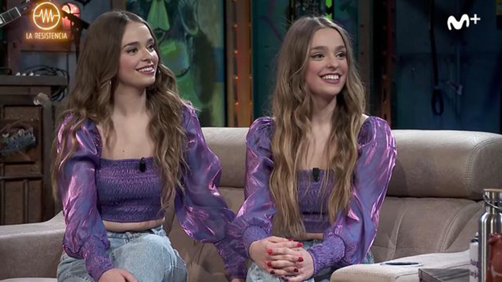 Aitana y Paula son más conocidas como Twin Melody en Tik-Tok