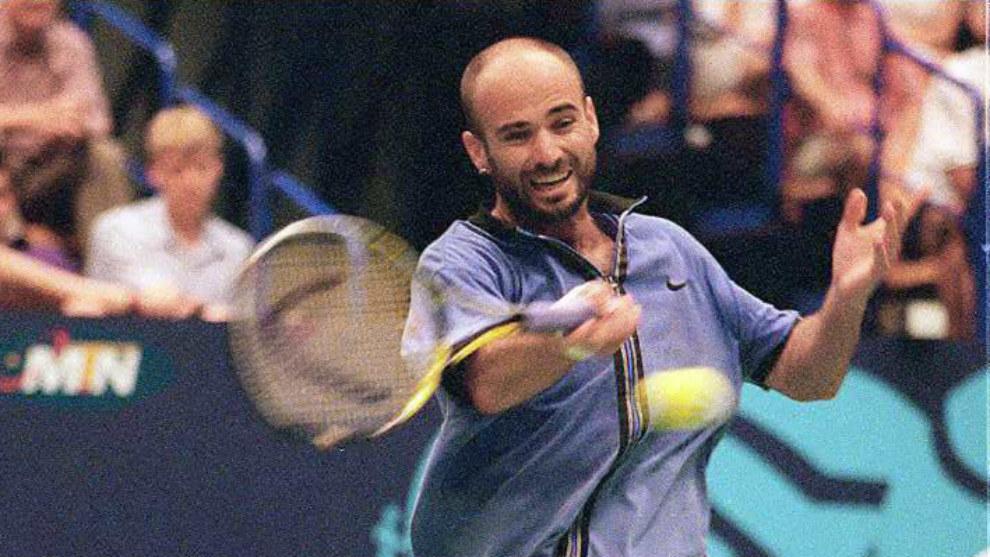 André Agassi, en 1997
