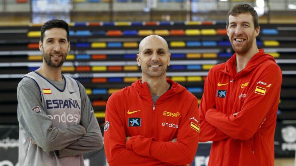 Sergi Vidal, Albert Oliver y Fran Vázquez, con la selección...