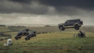 Instante del anuncio de Jaguar-Land Rover extraído del rodaje