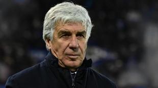 Gian Piero Gasperini, técnico del Atalanta.