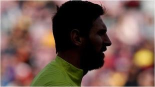 Messi podría salir del Barca.