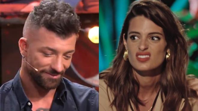 El zasca de Susana a Rubén en el debate de 'La Isla de las...