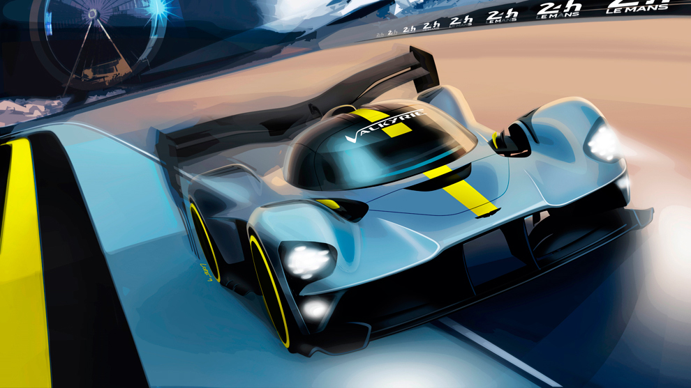 Aston Martin Valkyrie LM Hypercar