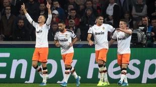 Cheryshev celebra el gol marcado en Lille.