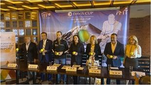 Se presenta la Copa Davis.
