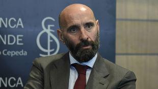 El director general deportivo del Sevilla, Monchi.
