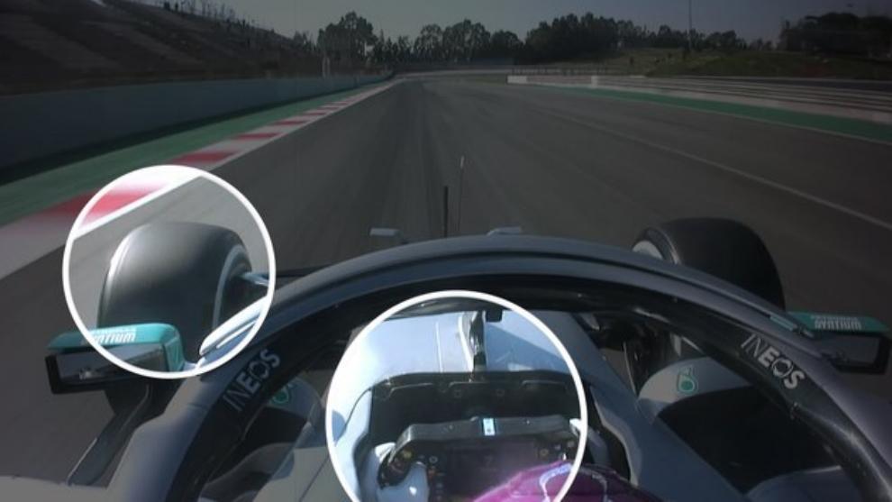 El DAS de Mercedes, en acción.