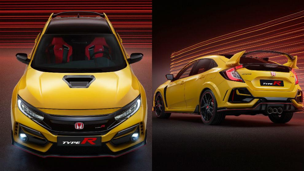 Honda Civic Type R recibe las versiones Limited Edition y Sport Line