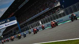 La salidad de un reciente GP de Tailandia.